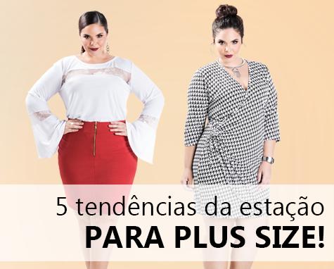 5 tendências da estação para plus size