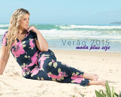 Verão 2015 Moda Plus Size: