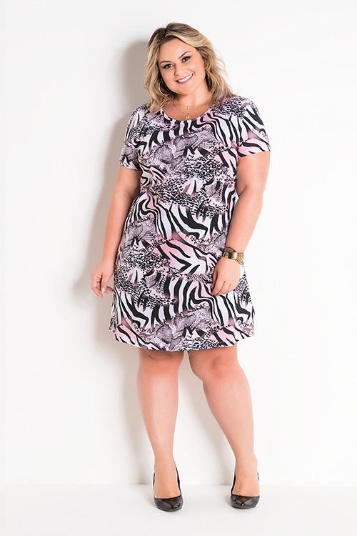 T-Shirt Dress Animal Print